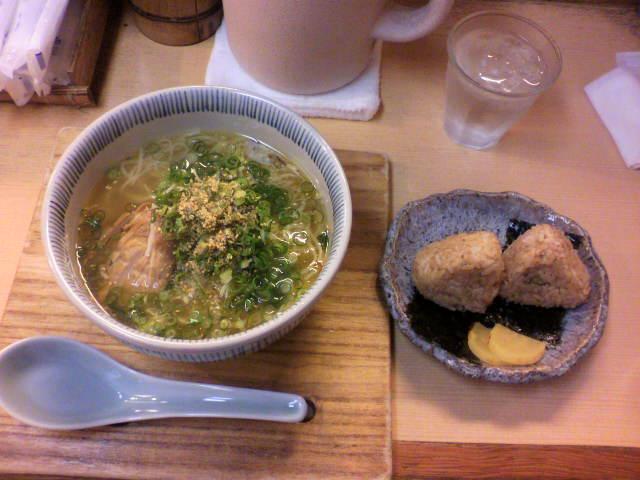 岡山での昼食