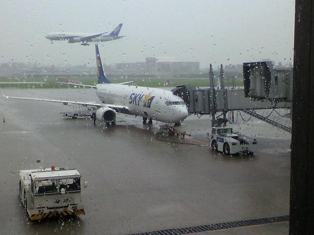 福岡から戻ります