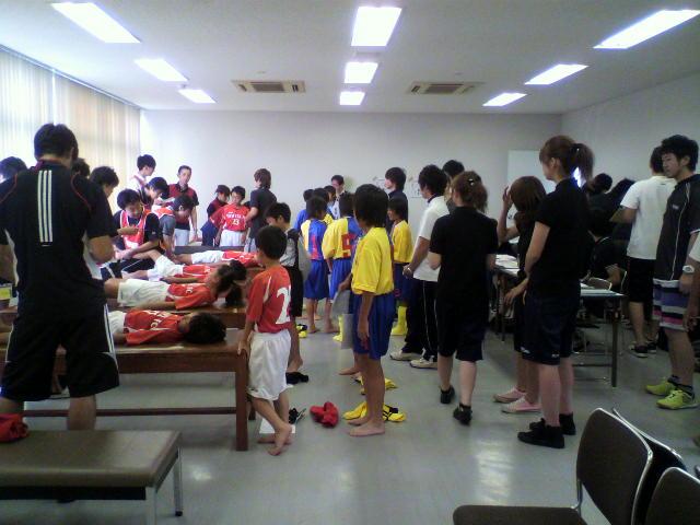 サッカー検診2<br />  日目