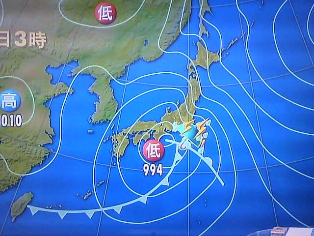今日も強い雨