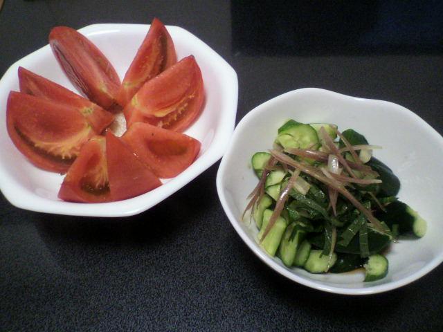 トマト&きゅうり