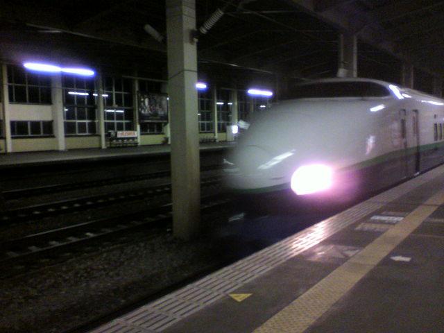 仙台から新潟へ