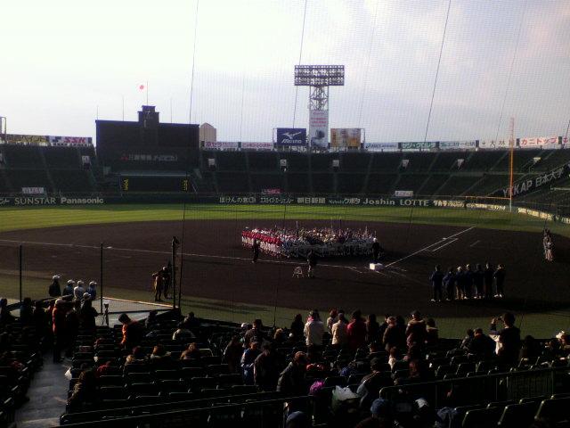 甲子園球場野球検診