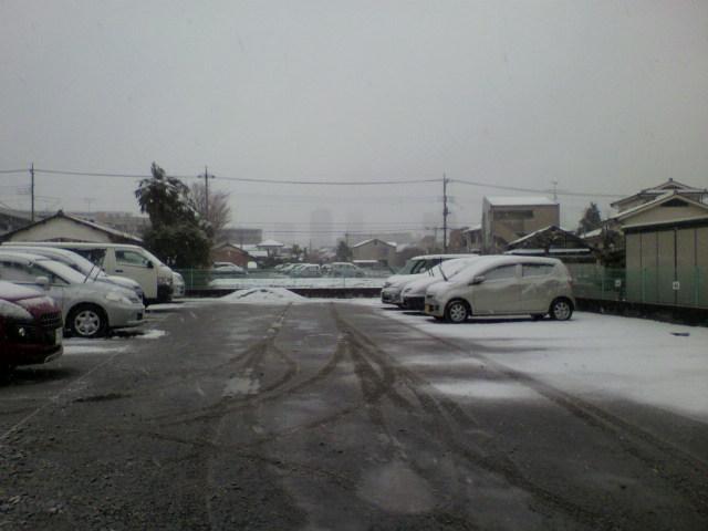 関東また雪