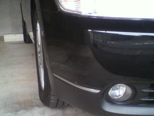 マイカー塗装完了