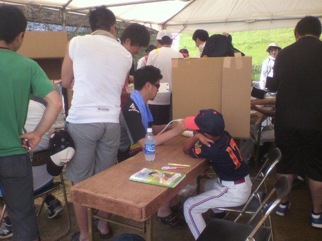 徳島野球肘検診2<br />  日目