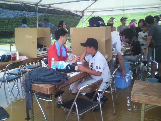 徳島野球肘検診3<br />  日目
