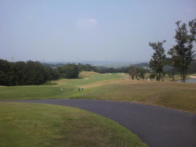 ゴルフの後に徳島へ