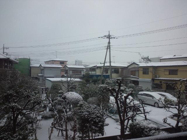 ソチオリンピック開幕の大雪な日