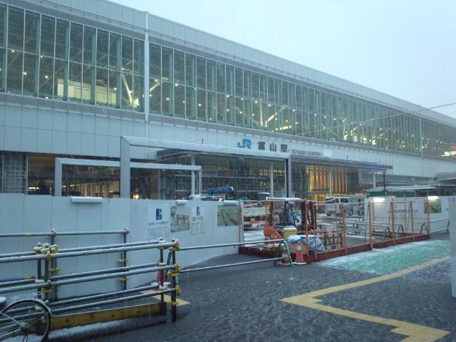 金沢から富山へ