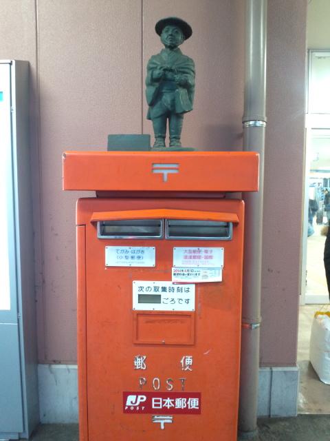 ご当地ポスト(<br />  富山駅)