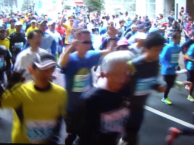 各地でマラソン