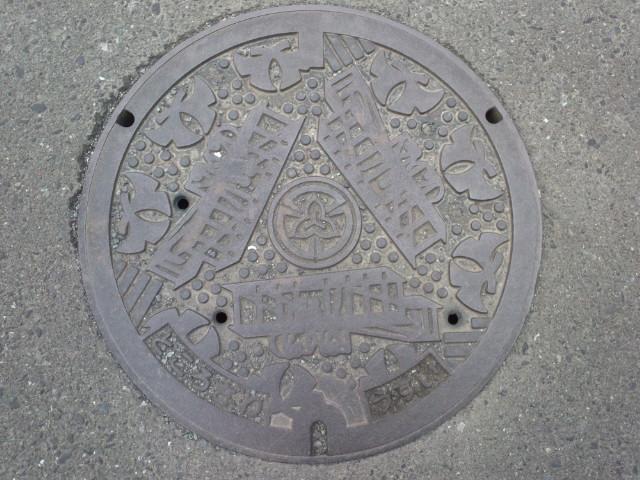 ご当地マンホール所沢市