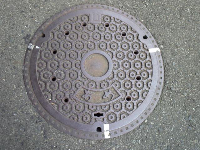 ご当地マンホール横浜桜木町