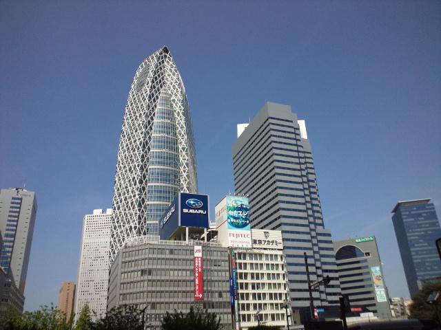 新宿、新橋