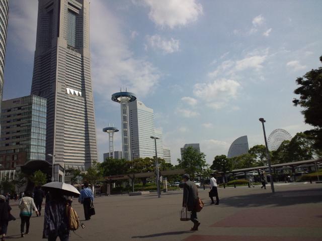 今日も横浜