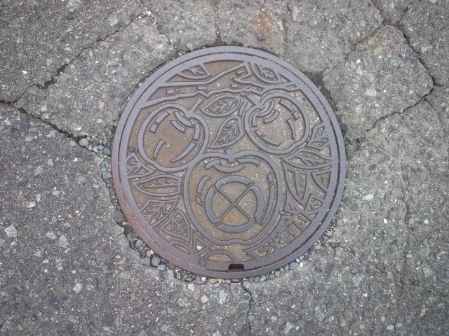 ご当地マンホール飯田市