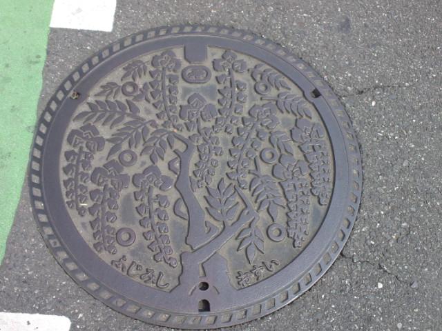 ご当地マンホール富士見