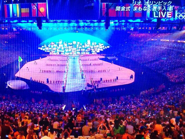Rioオリンピック開幕