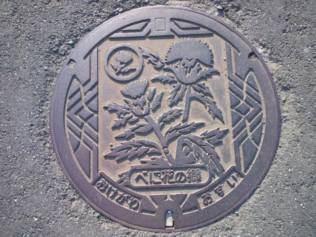 ご当地マンホール埼玉県桶川市