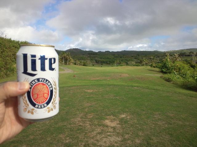サイパン3<br />  日目ゴルフ