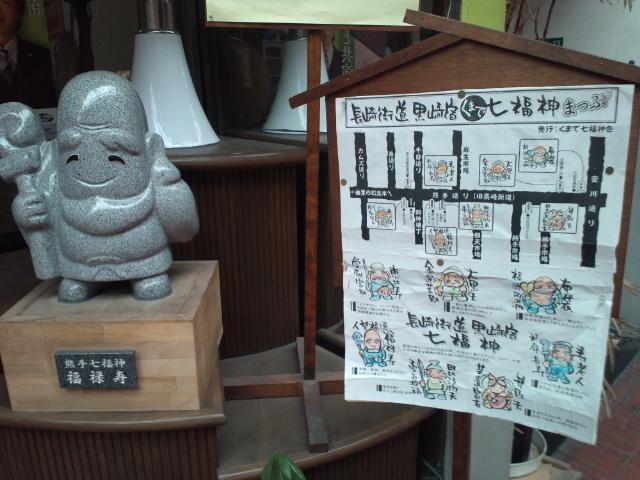 熊手通りの七福神