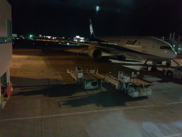 福岡空港工事中
