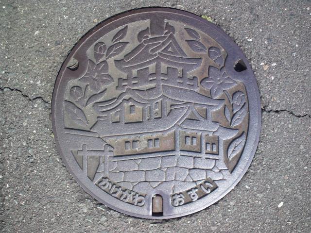 ご当地マンホール掛川市