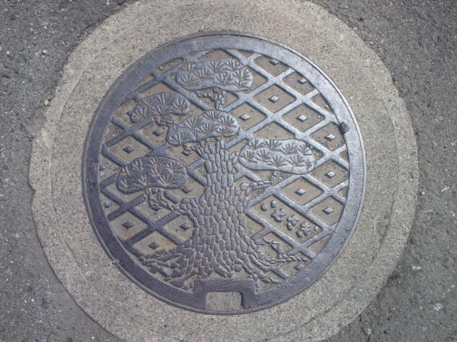 ご当地マンホール伊勢崎市