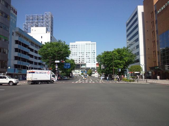 仙台から戻って市長選挙